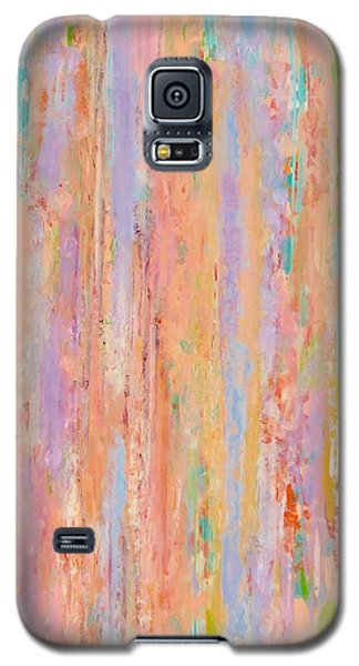 Galaxy S5 Case featuring the painting Spring Fusion by Irene Hurdle