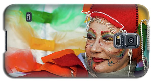 Rainbow Lady Galaxy S5 Case