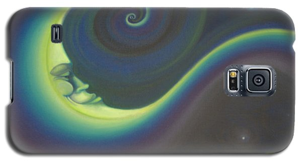 Rainbow Moonman Galaxy S5 Case