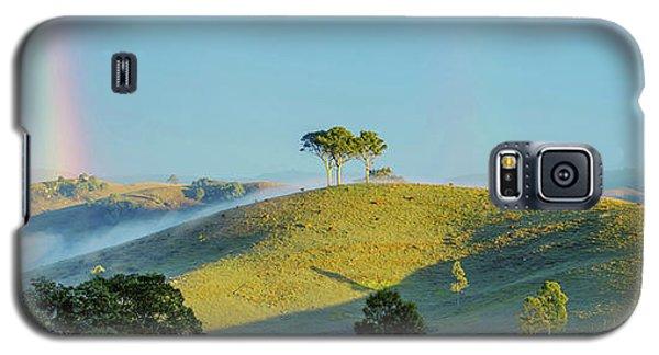Galaxy S5 Case featuring the photograph Rainbow Mountain by Az Jackson