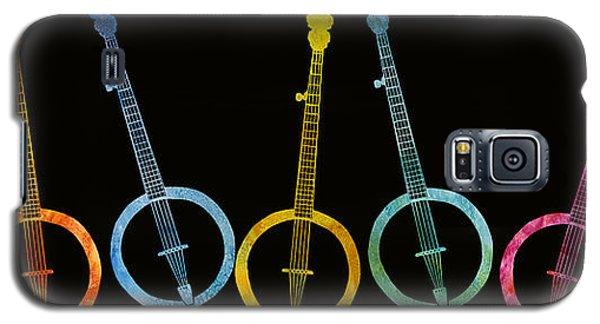 Rainbow Of Banjos Galaxy S5 Case