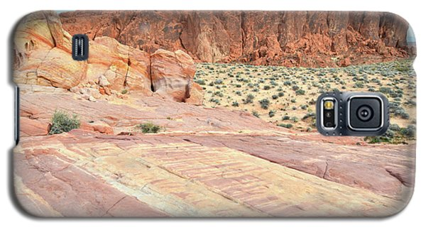 Galaxy S5 Case featuring the photograph Rainbow Of Color In Valley Of Fire by Ray Mathis