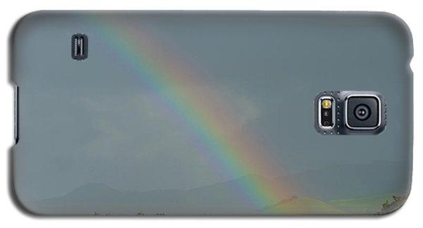 Rainbow On Valhalla Dr. Galaxy S5 Case