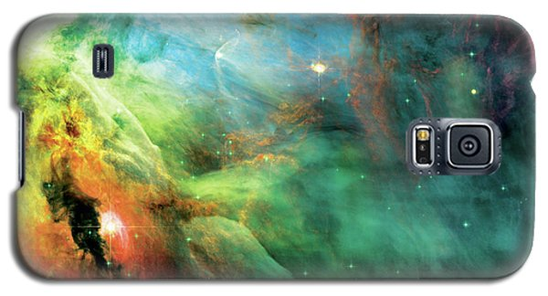 Rainbow Orion Nebula Galaxy S5 Case
