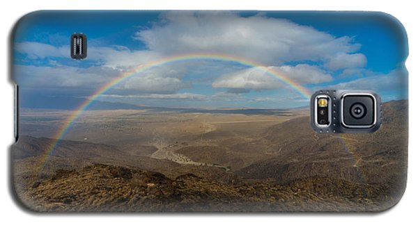 Rainbow Over Borrego Springs Galaxy S5 Case