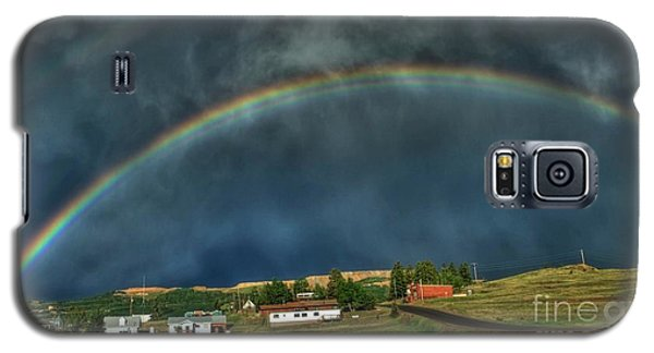 Rainbow Over Cripple Creek Galaxy S5 Case