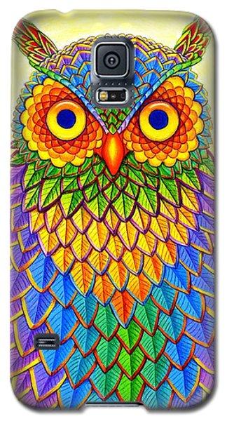 Rainbow Owl Galaxy S5 Case