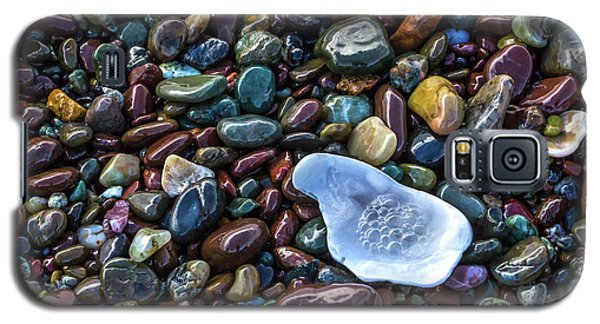 Rainbow Pebbles Galaxy S5 Case