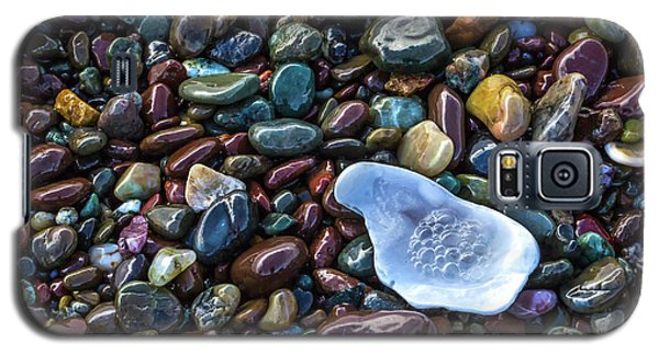 Rainbow Pebbles Galaxy S5 Case