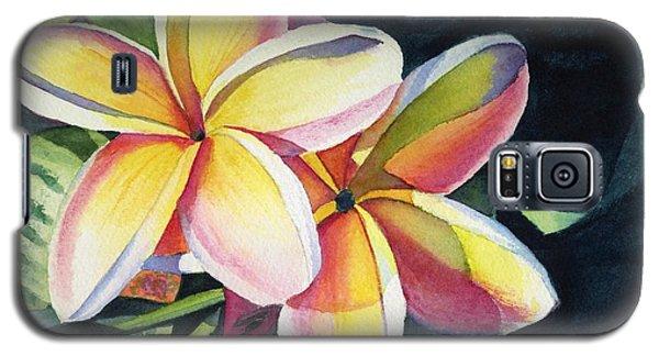 Rainbow Plumeria Galaxy S5 Case