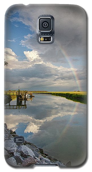 Rainbow Reflection Galaxy S5 Case by Patricia Schaefer