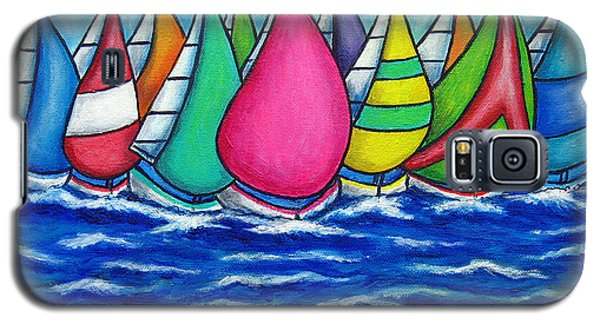 Rainbow Regatta Galaxy S5 Case
