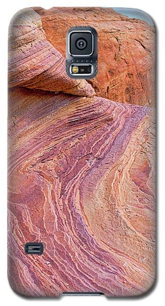 Rainbow Rocks Near Fire Canyon Galaxy S5 Case