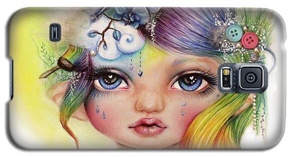 Rainbow Rosalie  Galaxy S5 Case by Sheena Pike