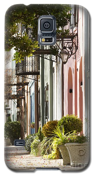 Rainbow Row Charleston Sc 2 Galaxy S5 Case