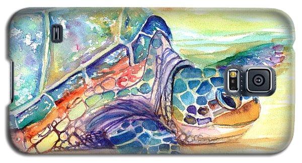 Rainbow Sea Turtle 2 Galaxy S5 Case