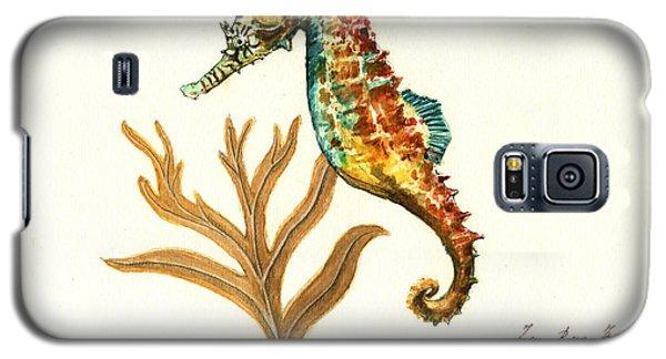 Rainbow Seahorse Galaxy S5 Case