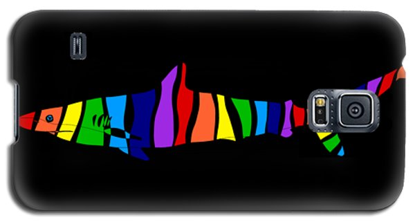 Rainbow Shark Galaxy S5 Case