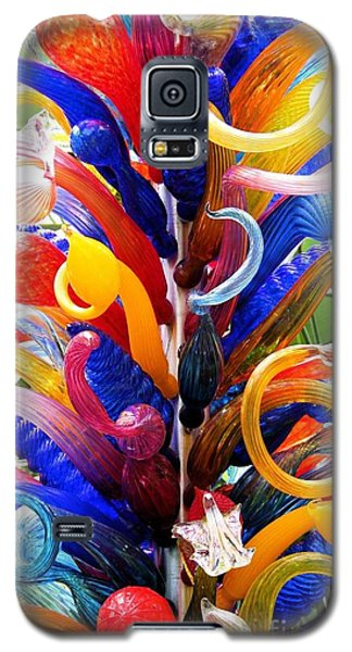 Rainbow Spirals Galaxy S5 Case