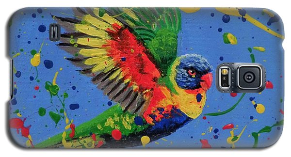 Rainbow Splash Galaxy S5 Case