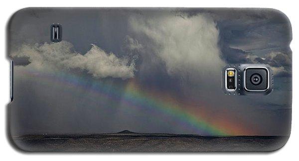 Rainbow Storm Over The Verde Valley Arizona Galaxy S5 Case