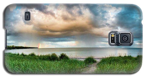 Rainbow Sunset Galaxy S5 Case