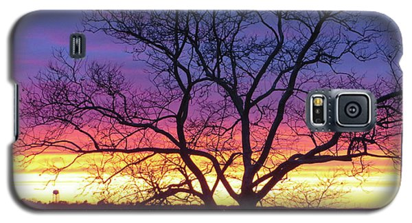 Rainbow Sunset Galaxy S5 Case