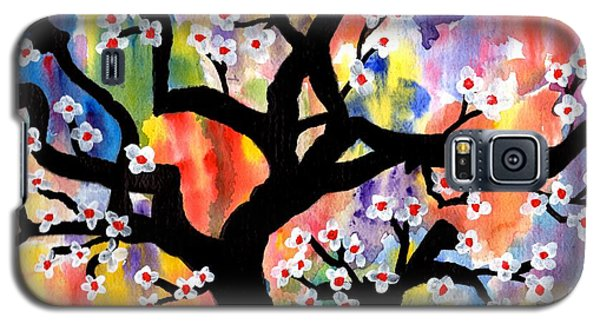 Rainbow Tree Galaxy S5 Case