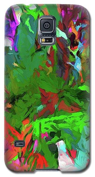 Rainbow Tropic Galaxy S5 Case