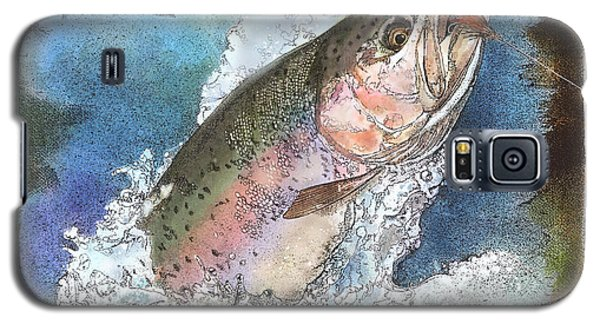 Rainbow Trout Galaxy S5 Case