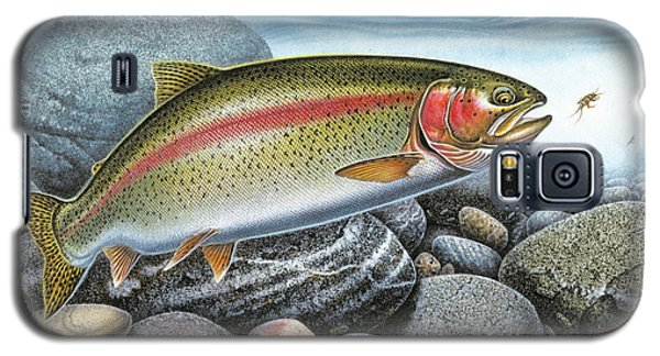 Rainbow Trout Stream Galaxy S5 Case by JQ Licensing