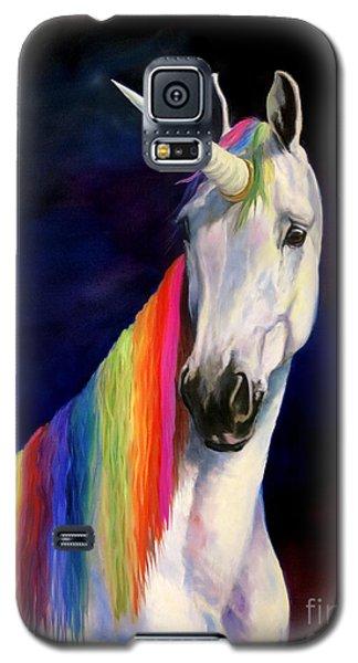 Rainbow Unicorn Galaxy S5 Case