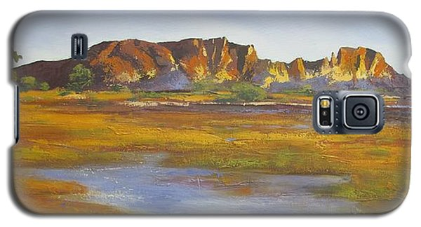 Rainbow Valley Northern Territory Australia Galaxy S5 Case by Chris Hobel