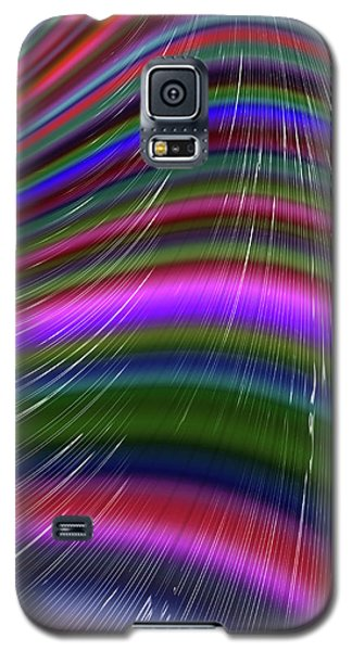 Rainbow Waves Galaxy S5 Case