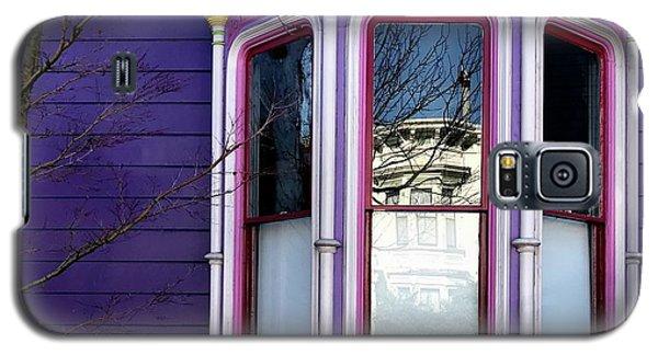 Galaxy S5 Case - Rainbow Window by Julie Gebhardt