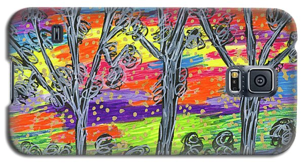 Rainbow Woods Galaxy S5 Case