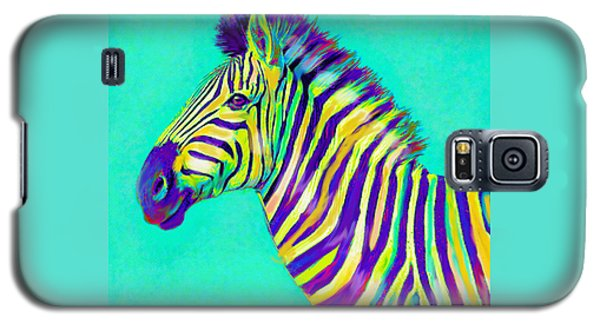 Rainbow Zebra 2013 Galaxy S5 Case