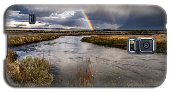 Rainbows At The Upper Owens Galaxy S5 Case