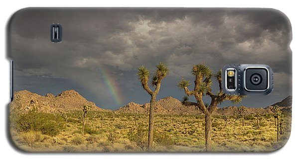 Rainbows Thunderstorms And Sunsets Galaxy S5 Case