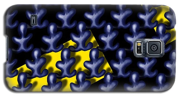 Raindance IIi - March Of The Blue People Galaxy S5 Case