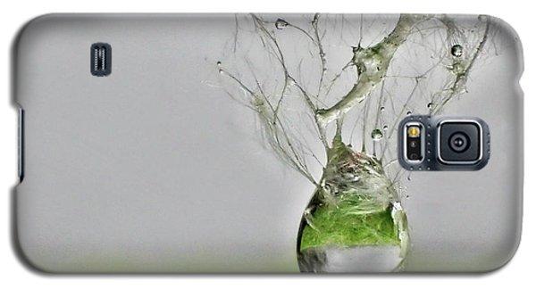 Raindrop On Web Galaxy S5 Case