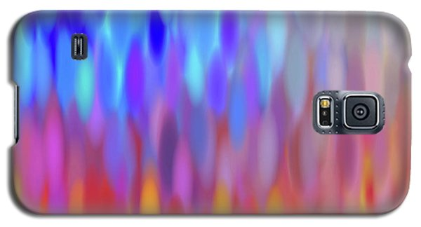 Galaxy S5 Case featuring the digital art raindrops No.1 by Tom Druin