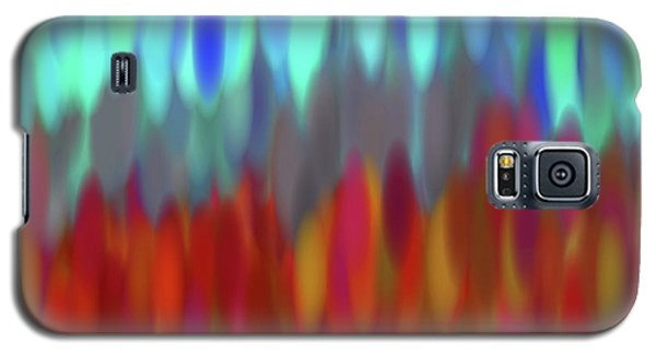 Galaxy S5 Case featuring the digital art raindrops No.2 by Tom Druin