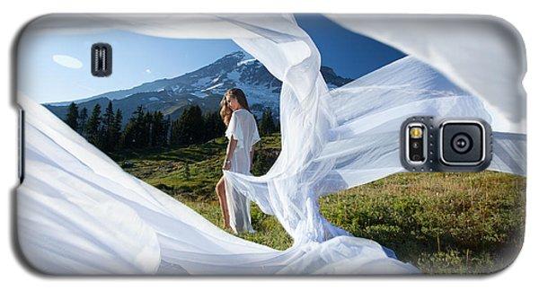 Rainier Ribbons Galaxy S5 Case by Dario Infini