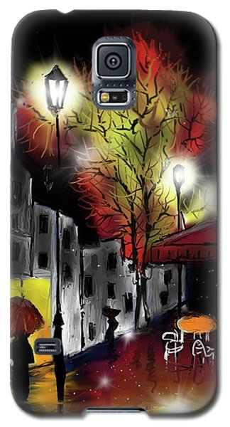 Raining And Color Galaxy S5 Case
