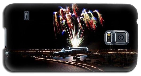 Galaxy S5 Case featuring the photograph Raining Colour. by Gary Bridger