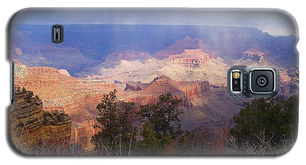 Galaxy S5 Case featuring the photograph Raining In The Canyon by Marna Edwards Flavell