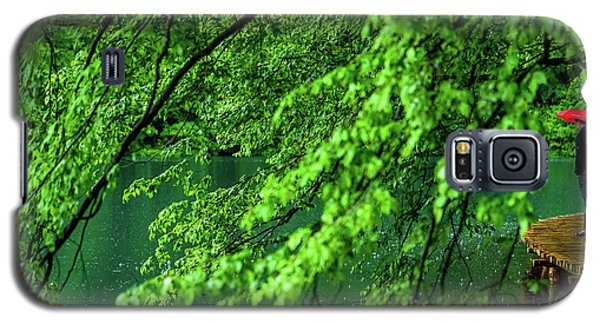 Raining Serenity - Plitvice Lakes National Park, Croatia Galaxy S5 Case