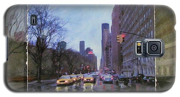 Rainy City Street Layered Galaxy S5 Case