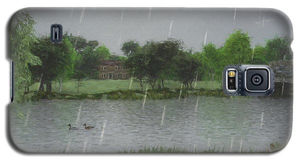 Rainy Day At The Lake Galaxy S5 Case by Jayne Wilson